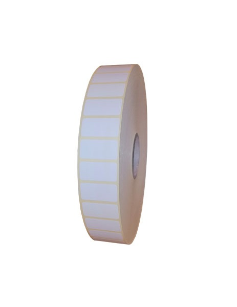 Role de etichete semilucioase autoadezive 30x15mm 10000 etichete in rola - 1 rola