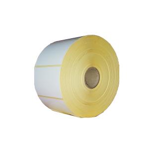 Etichete semilucioase 100x65mm 2500 etichete/rola