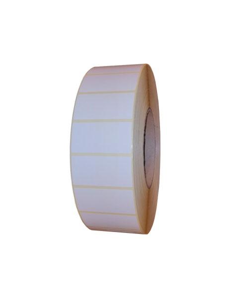 Role de etichete semilucioase autoadezive 50x25mm 5000 etichete - 1 rola