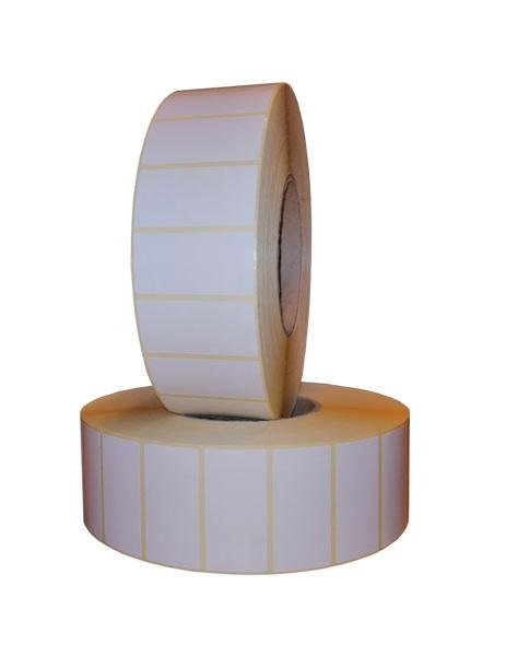 Role de etichete semilucioase autoadezive 50x25mm 5000 etichete - 2 role