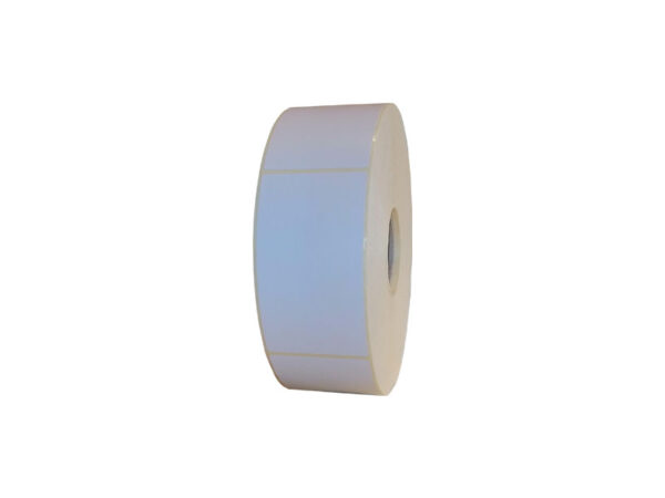 Role de etichete semilucioase autoadezive 50x90mm 1500 etichete - 1 rola