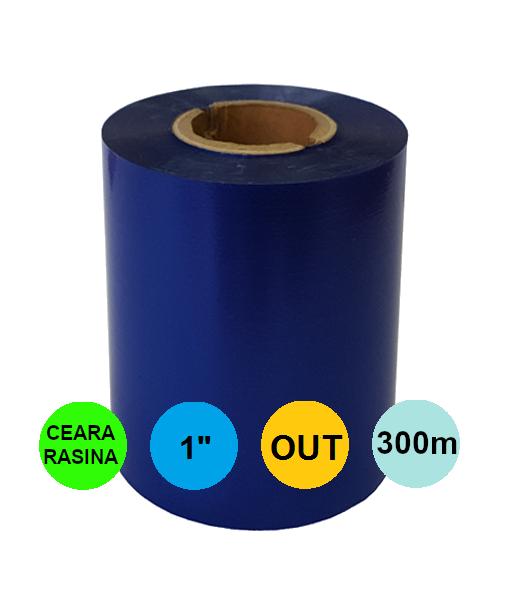 Ribon Albastru 60mm x 300m Out Ceara-Rasina 1 inch