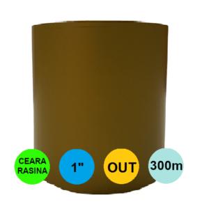 Ribon Auriu Mat 45mm x 300m Out Ceara-Rasina 1 inch
