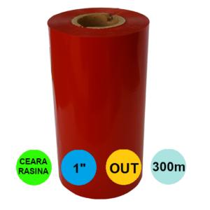 Ribon Rosu 110mm x 300m Out Ceara-Rasina 1 inch