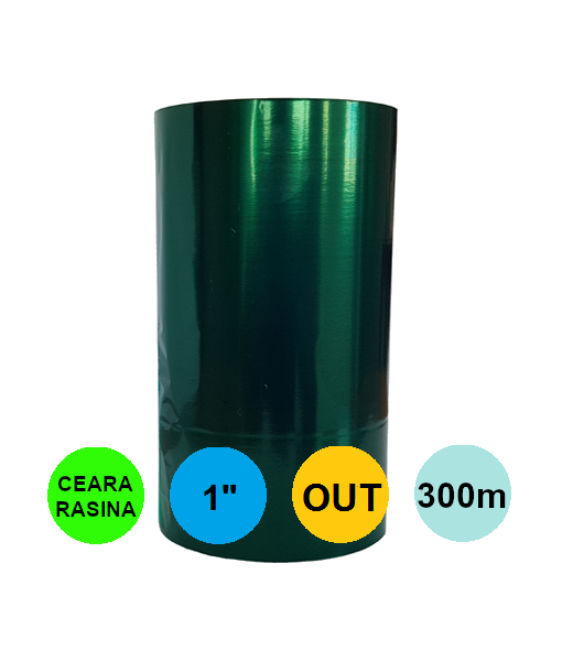 Ribon Verde 110mm x 300m Out Ceara-Rasina 1 inch