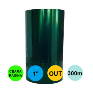 Ribon Verde 60mm x 300m Out Ceara-Rasina 1 inch