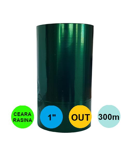 Ribon Verde 60mm x 300m Out Ceara-Rasina 1 inch