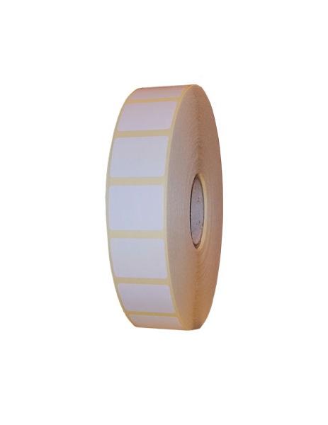 Role de etichete semilucioase autoadezive 30x23mm 5000 etichete - 1 rola
