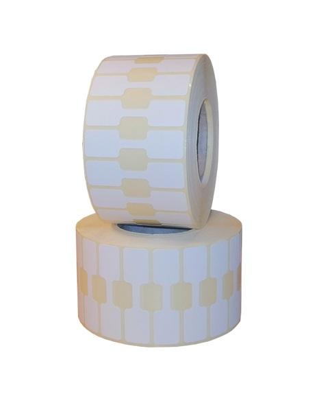 Role de etichete termice autoadezive bijuterii 50x13mm 2500 etichete - 2 role