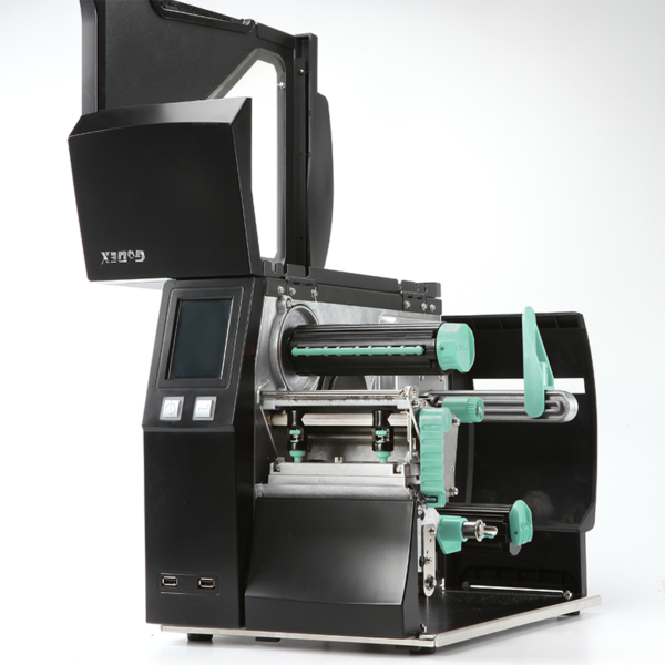imprimanta industriala pentru etichete autocolate godex ZX-1200i - interior2