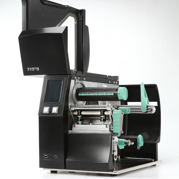 Imprimanta industriala pentru etichete autocolate GoDEX ZX1600i open