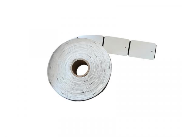 Rola de etichet TAG termice 49x76mm 1000 etichete/rola