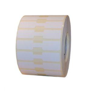 Role de etichete termice autoadezive bijuterii 63x13mm 2500 etichete - 1 rola