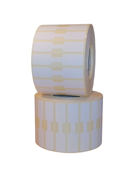 Role de etichete termice autoadezive bijuterii 63x13mm 2500 etichete - 2 role