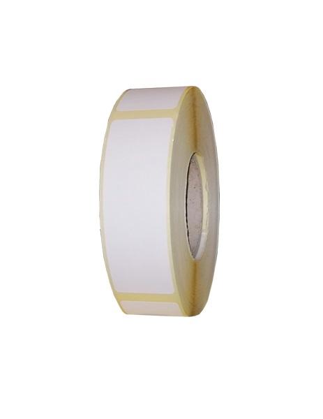 Role de etichete termice autoadezive 25x75mm 600 etichete - 1 rola
