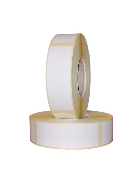 Role de etichete termice autoadezive 25x75mm 600 etichete - 2 role