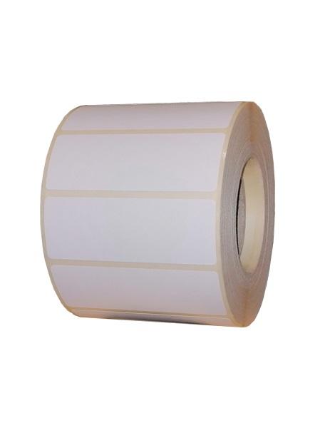 Role de etichete termice autoadezive 70x25mm 1500 etichete - 1 rola