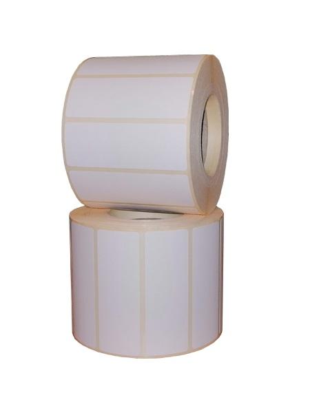 Role de etichete termice autoadezive 70x25mm 1500 etichete - 2 role