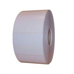 Role de etichete semilucioase autoadezive 70x50mm 2000 etichete - 1 rola