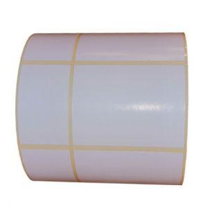 Role de etichete semilucioase autoadezive 97x50mm 1000 etichete 1 - rola orizontal