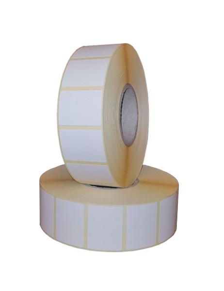 Role de etichete termice autoadezive 30x23mm 2000 etichete - 2 role