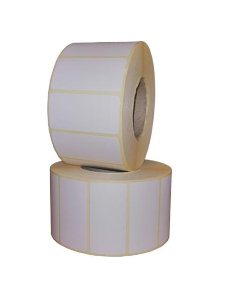 Role de etichete termice autoadezive 50x25mm 1500 etichete - 2 role