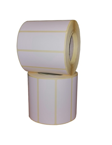 Role de etichete termice autoadezive 70x25mm 1000 etichete - 2 role