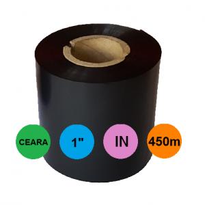 Ribon 110mm x 450m In Ceara Negru 1 inch