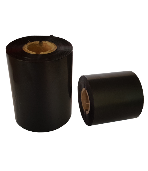 Ribon 80mm x 300m OUT Ceara-RASINA Premium Negru 1 inch- 2 riboane