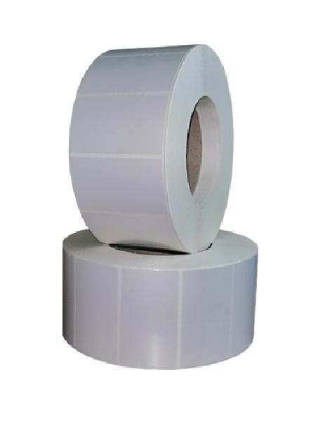 Rola de etichete autoadezive BOPP 70x40mm 2500 etichete rola - 2 role