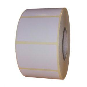 Role de etichete semilucioase autoadezive 50x32mm 1250 etichete rola - 1 rola