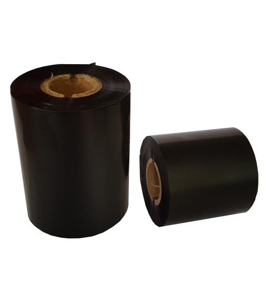 Ribon 80mm x 450m OUT Ceara-RASINA Premium Negru 1 inch- 2 riboane