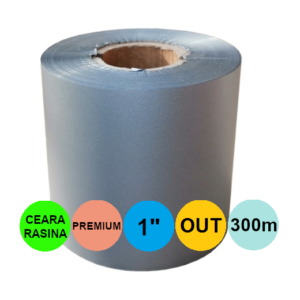 Ribon Argintiu 60mm x 300m Out Ceara-Rasina 1 inch