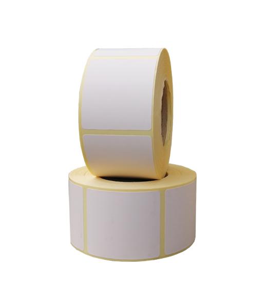 Role de etichete termice autoadezive 40x46mm 600 etichete in rola - doua role