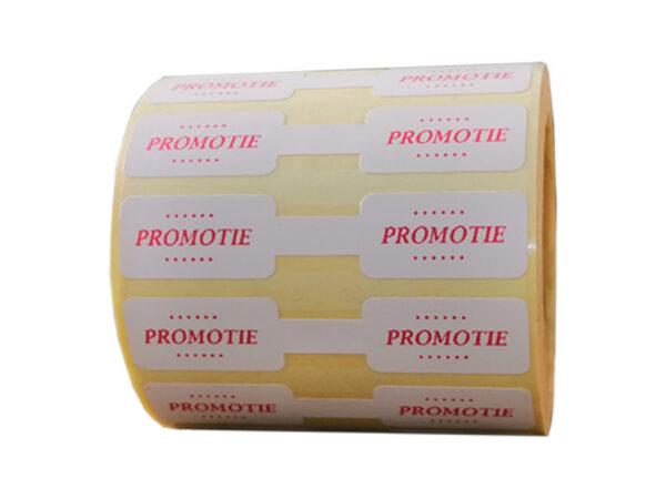 Role personalizate de etichete pentru bijuterii pentru promotii, 63x13mm, 1000 etichete rola - promotii