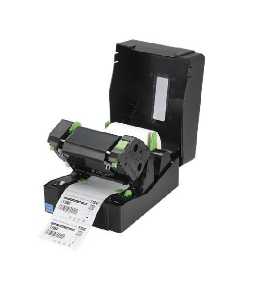 Imprimanta de etichete TSC TE200 - ribon deschis