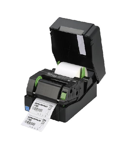Imprimanta de etichete TSC TE210 - capac deschis