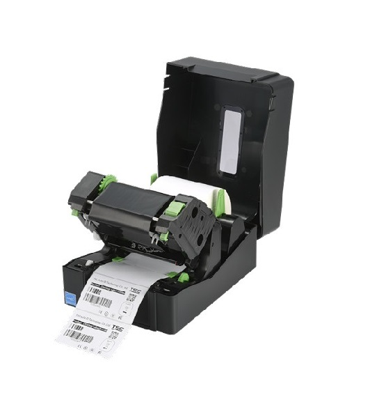 Imprimanta de etichete TSC TE210 - ribon deschis