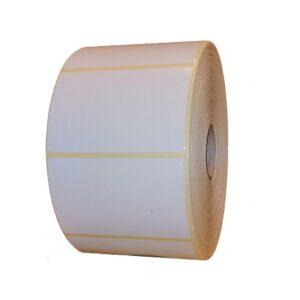 Role de etichete semilucioase autoadezive 100x70mm 2000 etichete rola- 1 rola
